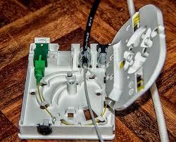 instalación correcta de fibra óptica ROSETA PTRO